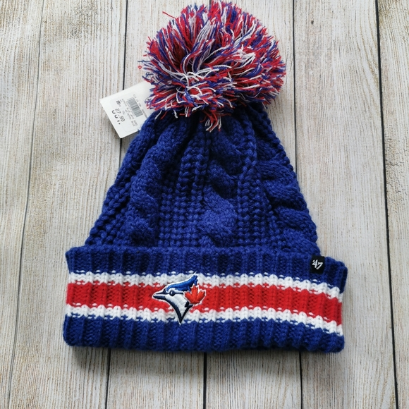 NWT Toronto Blue Jays Loose Knit Toque